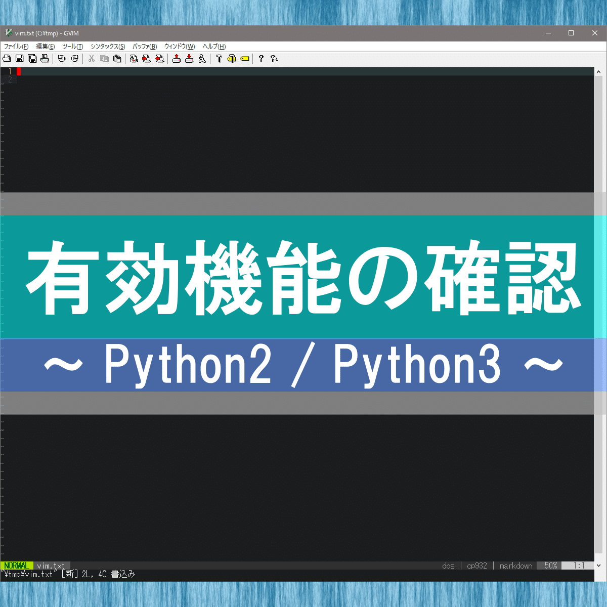 アイキャッチ:python が有効かを知る方法は?